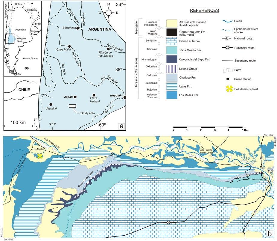 Isaberrysaura map