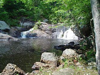Isinglass River - Locke's Falls, Isinglass River