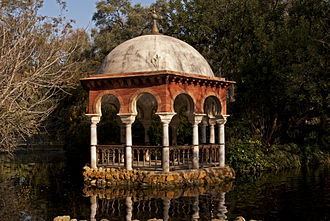 Maria Luisa Park - Pavilion of King Alfonso XII of Spain, remains of the gardens of the Palace of San Telmo