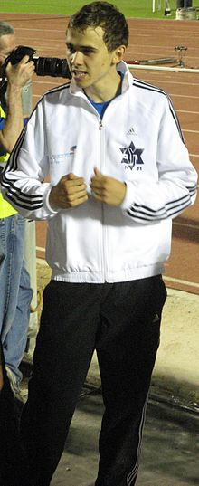 Israel track and field championship 2011 Dmitry Kroyter 01.JPG