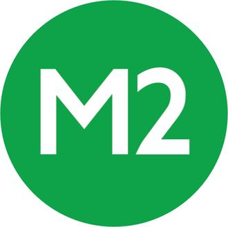 4. Levent (Istanbul Metro) - Image: Istanbul Line Symbol M2
