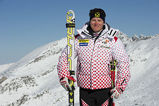 Ivica Kostelić Croatian Alpine skier