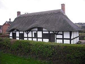 Izaak Walton's Cottage - The cottage, as restored