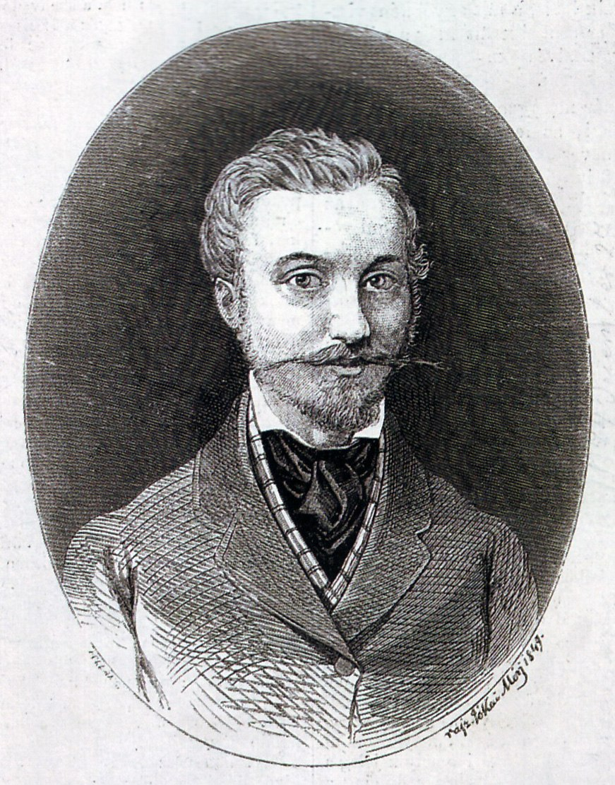 Jókai Self portrait 1849