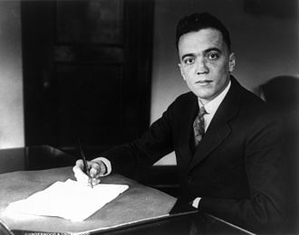 J. Edgar Hoover - Hoover in 1932