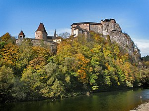 Orava Castle - View of the Castle