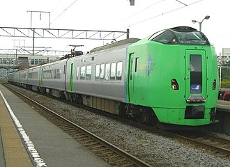 789 series - 789 series on a Super Hakucho service in August 2010