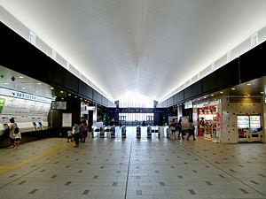 Takarazuka Station - Image: JR Takarazuka Station Ticket Gate