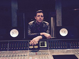 James Abrahart - James Abrahart at Westlake Recording Studios, West Hollywood, January 2015.