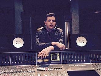 James Abrahart - James Abrahart at Westlake Recording Studios, West Hollywood, January 2015.