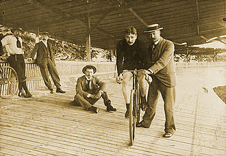 Jaap Eden - Jaap Eden won two world championships in cycling, one each in 1894 and 1895.