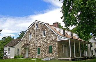 Walden, New York - 18th-century stone house Jacob Walden later lived in.
