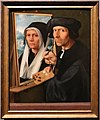 Jacob cornelisz. van oostsanen, dipingendo un ritratto della moglie, 1550 ca.jpg