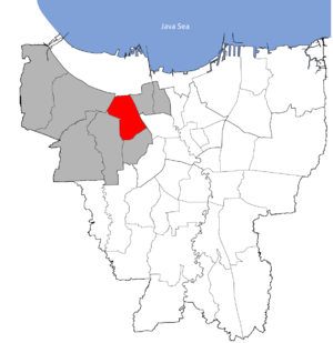 Grogol Petamburan - Grogol Petamburan in West Jakarta