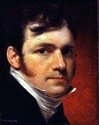 James Lonsdale (painter) - Self-portrait