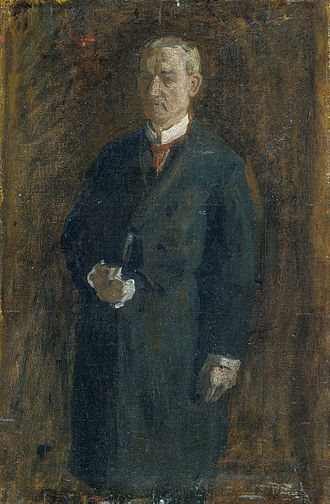 James A. MacAlister - James MacAlister in 1895 by Thomas Eakins.