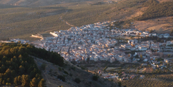 Skyline of Jamilena, Spain