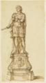 Jan Claudius de Cock - Study for a statue of William III of Orange.tiff