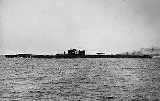 Type B submarine - I-54 in 1944