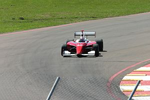 Jay Drake - Drake driving an Infinti Pro Series car for Vision Racing in 2005 on the Streets of St. Petersburg