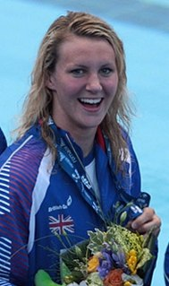 Jazmin Carlin British swimmer