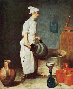 1738 in art - Chardin, The Wash Barrel