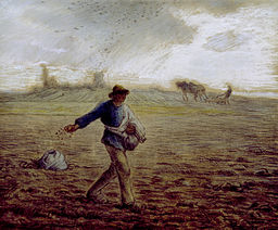 Jean-François Millet - The Sower - Walters 37905