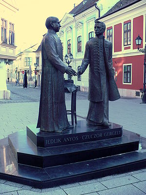 Ányos Jedlik - Jedlik and his cousin Gergely Czuczor in Győr