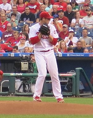 Jerad Eickhoff - Eickhoff with the Phillies in 2016