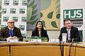 """Jeremy Wright MP speaking at the Henry Jackson Society paper """"Free to be Extreme"""" in January 2020 Nikita Malik and Dr Paul Stott (both HJS) - 1.jpg"""