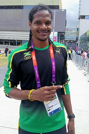 Jermaine Gonzales - Jermaine Gonzales at The London 2012 Summer Olympic Games