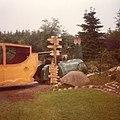 Jernhesten i Jespershus blomsterpark i 1981.jpg