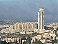 Jerusalem Holyland Tower remote view from Rehavia.jpg