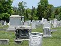 Jerusalem Lutheran Cemetery, Sellersville, BucksCo PA 01.JPG