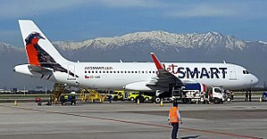 JetSmart - A JetSmart Airbus A320 at Santiago International Airport