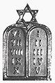 Jewish Chaplain insignia Roman numerals.jpg