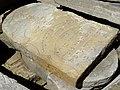Jewish Tombstone in Casemate - Brest Fortress - Brest - Belarus - 03 (26871527754).jpg