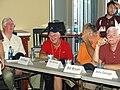 Jim, Nellie Matthews, Tom Harrison, Billy Bryan autograph session KC Reunion 2010.jpg