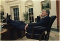 Jimmy Carter sitting in the Oval Office - NARA - 178946.tif