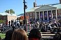 Joe Biden in front of Reynolda Hall 4 (2968125070).jpg