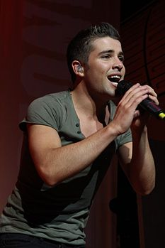 Fotografia di Joe McElderry