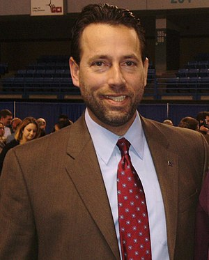 Joe Miller (Alaska politician) - Image: Joe Miller at Carlson Center, Fairbanks, Alaska 201010
