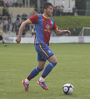 Joel Ward (footballer) - Ward playing for Crystal Palace in July 2012