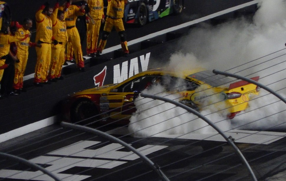 Joey Logano burns the house down at Thunder Valley second take