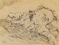 Johannessen - Tochter Solveig schlafend - ca 1916.jpeg
