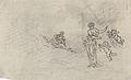 Johannot T. attr. - Ink - Couple romantique avec amours - 26.4x16cm.jpg