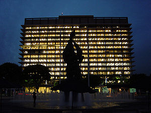 Los Angeles Department of Water and Power - The John Ferraro Building, LADWP Headquarters in Downtown Los Angeles