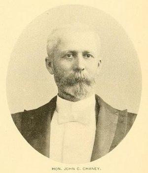 John C. Chaney - Image: John C. Chaney