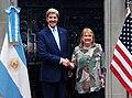 John Kerry with Susana Malcorra 03.jpg