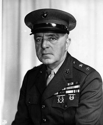 John Marston (USMC) - Major General John Marston, USMC